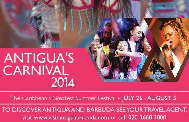 Explozie de culori la Antigua Carnival 2014!