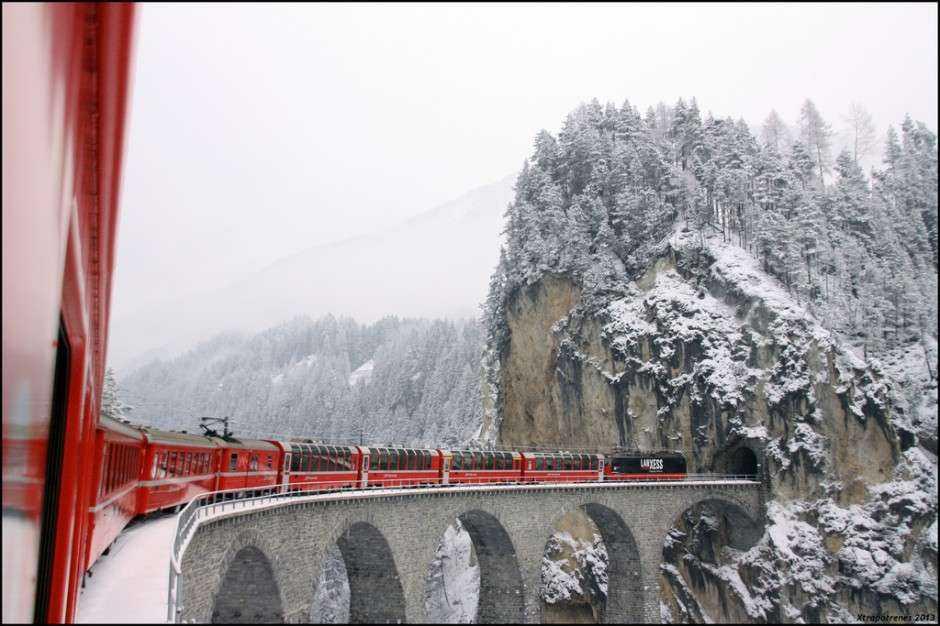 5 cele mai teatrale rute feroviare din toată Europa