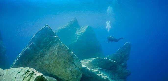 """""""Fereastra de Azur"""" din Malta, atracție subacvatică"""