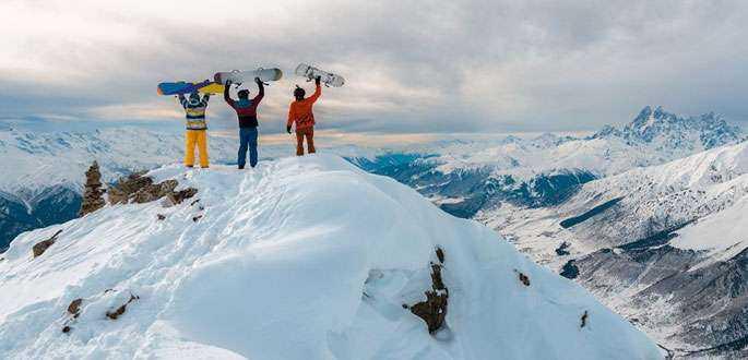 Vacanța de iarnă la schi, în Bansko