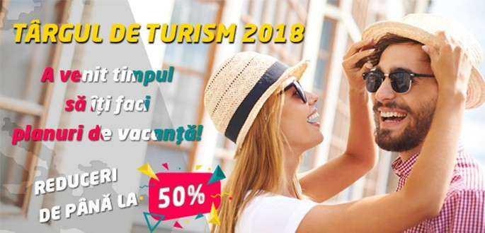 Reduceri de până la 50%, la Târgul de Turism!