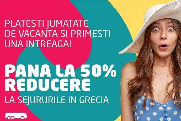reducere de pana la 50% la sejururi de 6 nopti, in Grecia