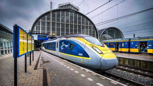 Tren direct de mare viteză între Amsterdam și Londra