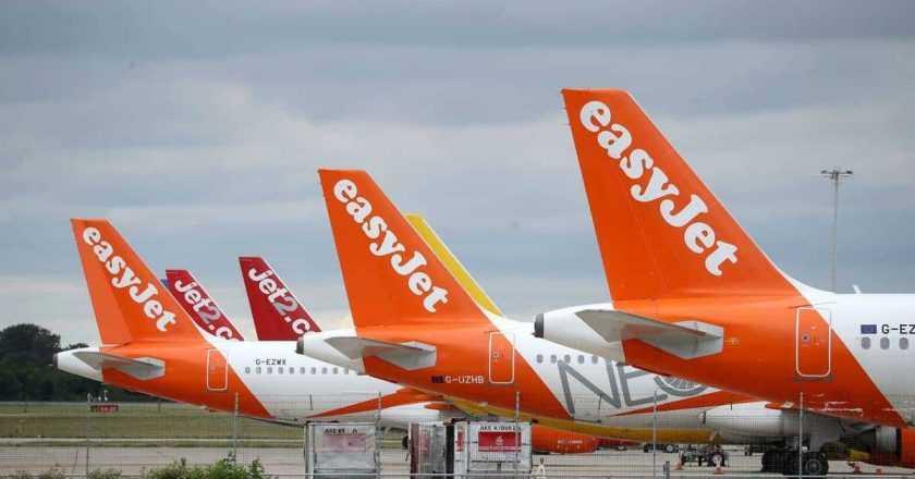 easyJet pune în vânzare zborurile pentru 2022