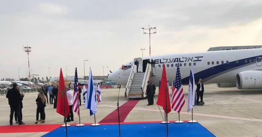 Primul zbor Israel – Maroc