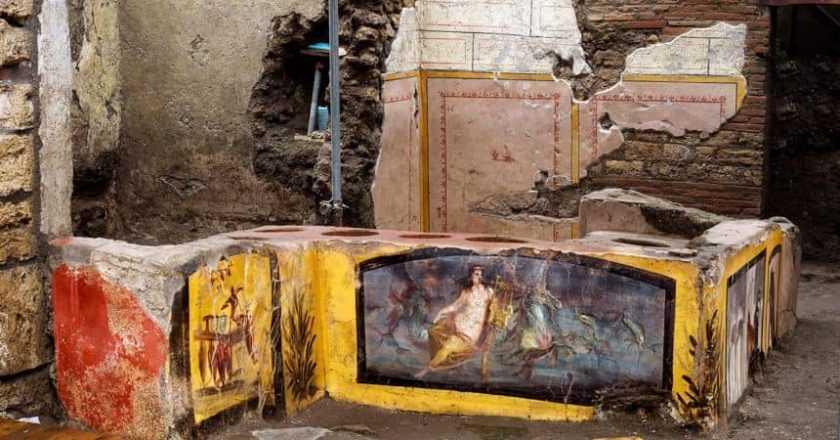 Arheologii descoperă mâncarea de stradă în Pompei