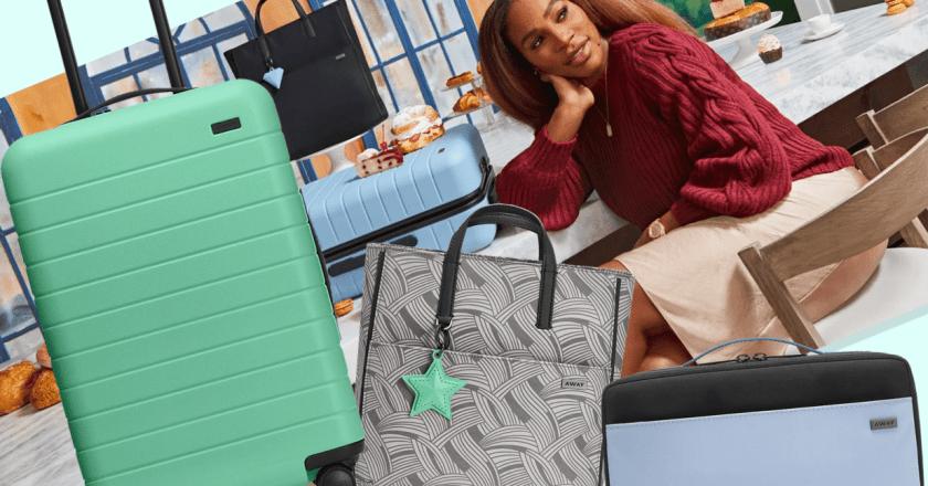 Serena Williams își lansează a doua colecție de bagaje