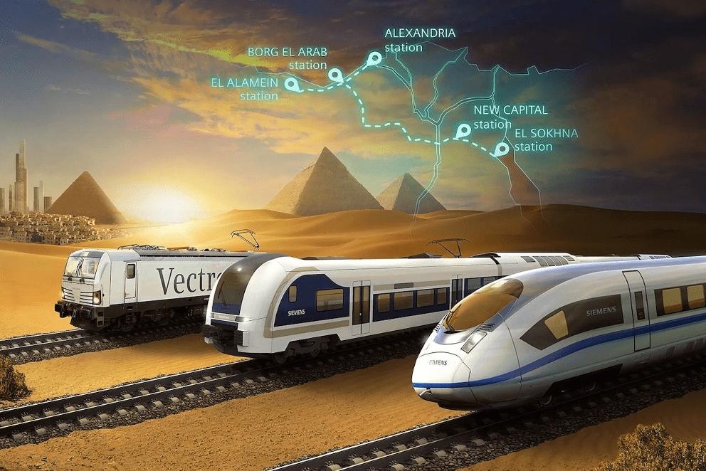 Egiptul va avea trenuri de mare viteză